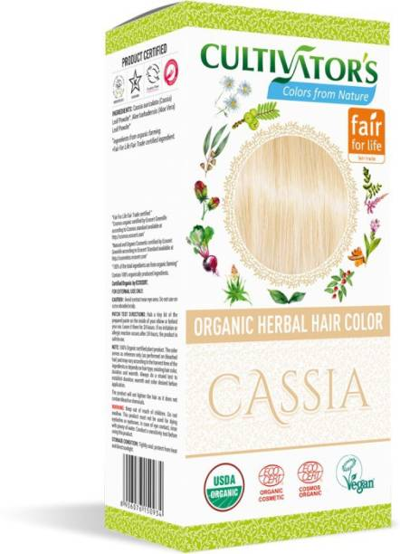 Cultivator's Organic Herbal Hair Color , Cassia