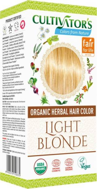 Cultivator's Organic Herbal Hair Color , Light Blonde