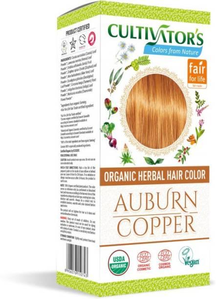 Cultivator's Organic Herbal Hair Color , Auburn/Copper