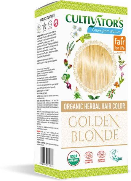 Cultivator's Organic Herbal Hair Color , Golden Blonde