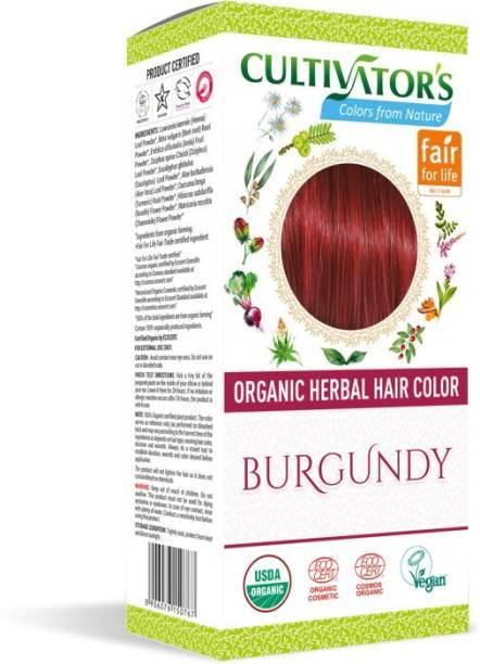 Cultivator's Organic Herbal Hair Color , Burgundy