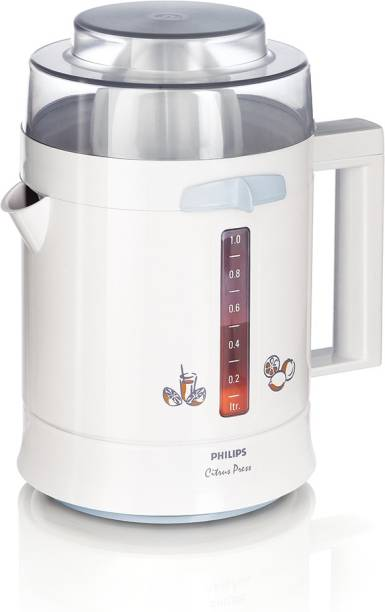 PHILIPS Citrus Press HR2775 25 W Juicer (1 Jar, White)