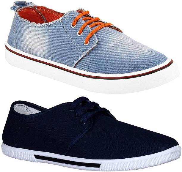 9cac607961fc Denim Shoes - Buy Denim Shoes online at Best Prices in India ...