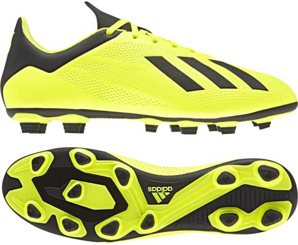 huge discount ff254 1deba ADIDAS X 18.4 FLEXIBLE GROUND BOOTS Football Shoes For Men