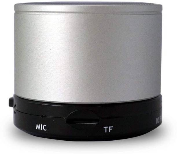 voltegic ™ Rechargeable S10 Bluetooth Speaker Mini Stereo Speaker with TF Card Slot 5 W Bluetooth Speaker