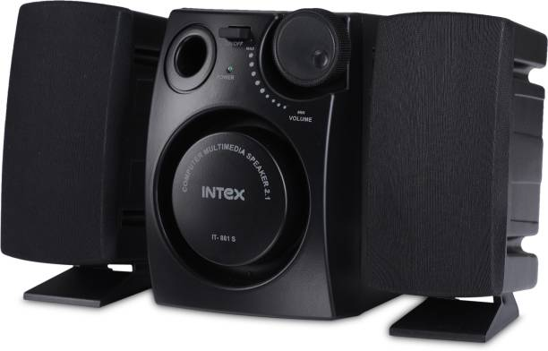 Intex IT 881S 16 W Laptop/Desktop Speaker