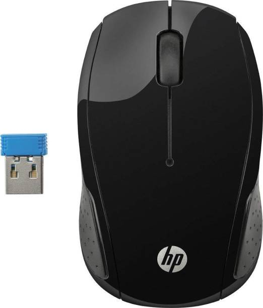 c8eebc89d72 HP 200 Wireless Optical Mouse (2.4GHz Wireless, Black) Wireless Optical  Mouse