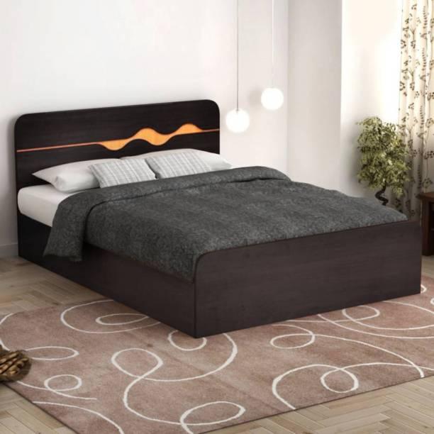 Hometown Engineered Wood Queen Box Bed