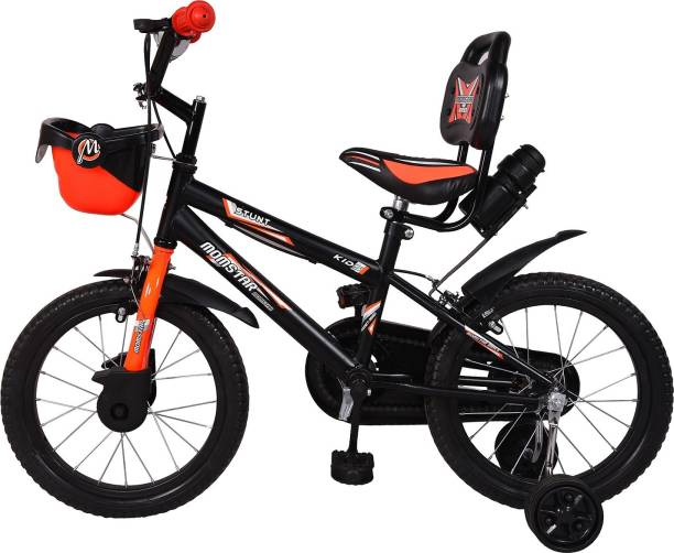 5b8a944e145 Mustang® Momstar Stunt Bicycle For Kids of 5-8Yrs Black Orange 16 T  Recreation Cycle