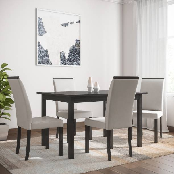Flipkart Perfect Homes Arranmore Solid Wood 4 Seater Dining Set