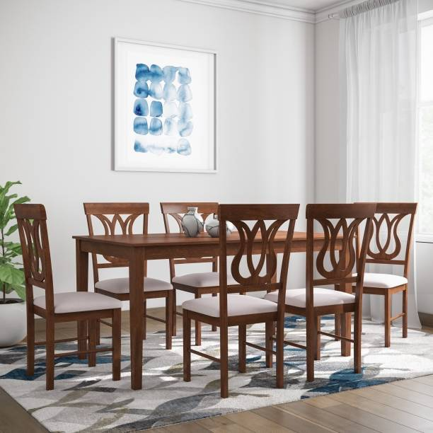 106954eca73 6 Seater Dining Tables Sets Online at Discounted Prices on Flipkart