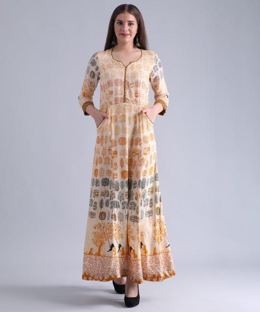 Yellow a Line Mini Dress Biba