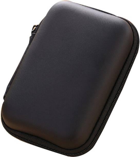 Desi Rang Leather Zipper Headphone Pouch