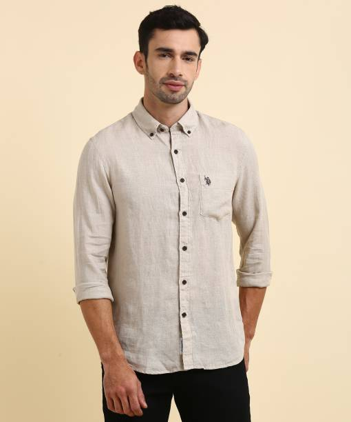 Linen Shirts - Buy Linen Shirts online at Best Prices in India ... 35aee8873