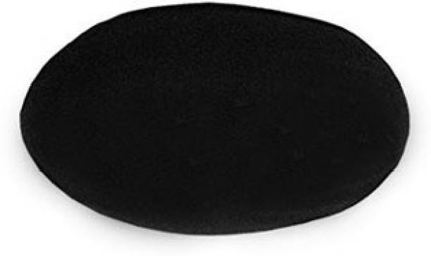 SK Craft Natural Black Stone Shaligram Shivling Shiva Ling Stone-4x2.5 CM, shaligram bhagwan, shaligram for tulsi pooja, shaligram Decorative Showpiece  -  4 cm