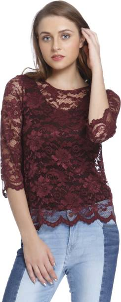 most popular later the cheapest Maroon Tops - Buy Maroon Tops Online at Best Prices In India ...