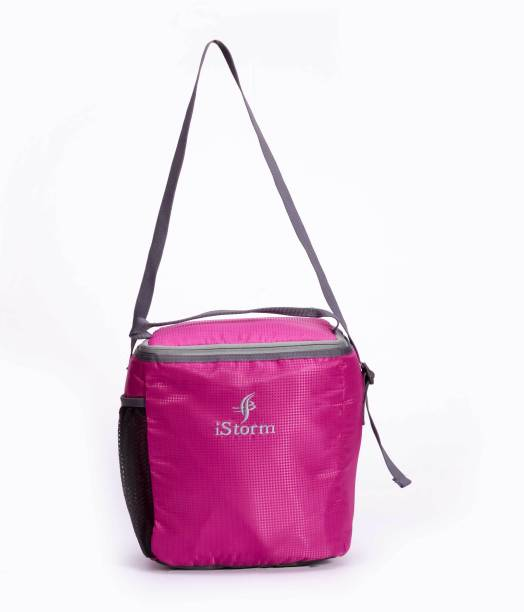 Istorm Lunch Bag Large Pink   Grey Waterproof Lunch Bag 73d935251dcf3