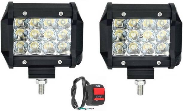 AutoPowerz LED Fog Light For Universal For Car Universal For Bike