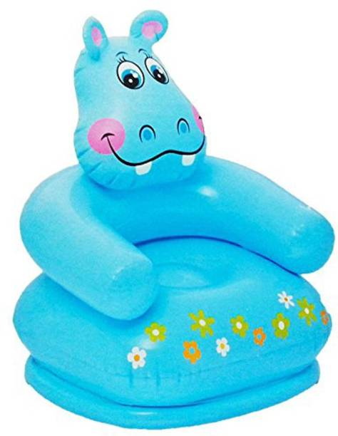 INTEX ® Original Inflatable Kids Happy Animal Hippo Air Chair Inflatable Sofa/ Chair