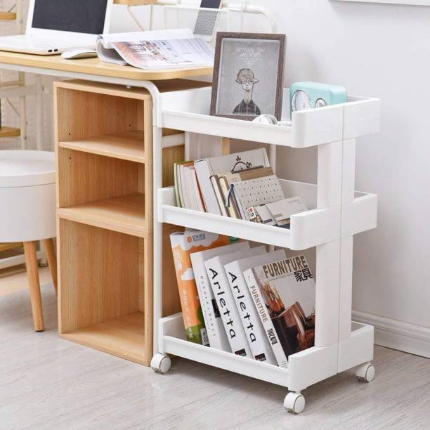 House Of Quirk Plastic Kitchen Trolley