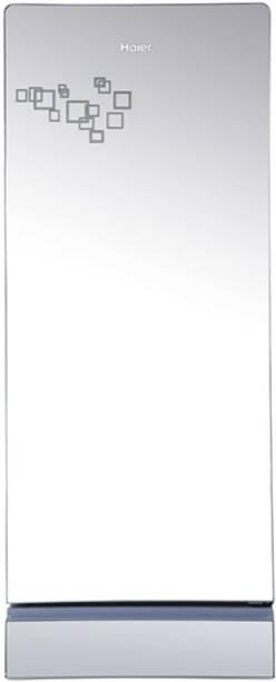 Haier 195 L Direct Cool Single Door 5 Star Refrigerator  with Mirror Glass Door