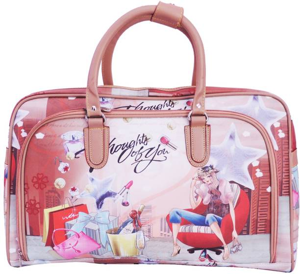 Kion Style Printed Small Travel Bag Cabin Size