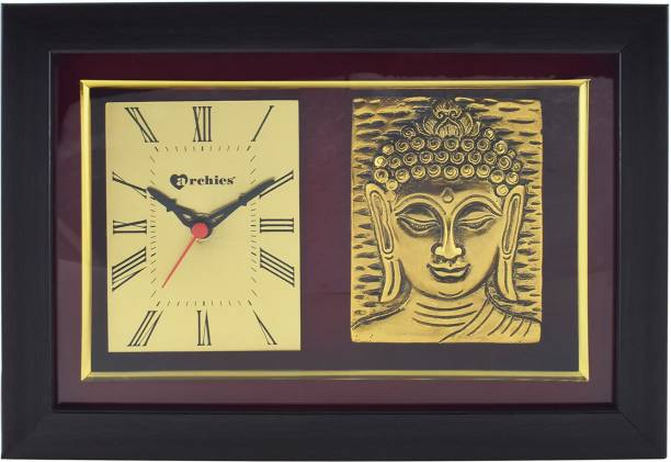 ARCHIES Analog Gold Clock