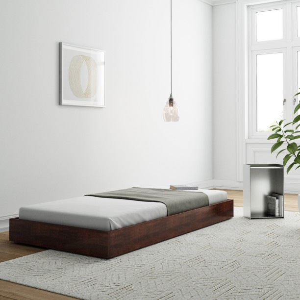 Flipkart Perfect Homes PureWood Sheesham Single Bed
