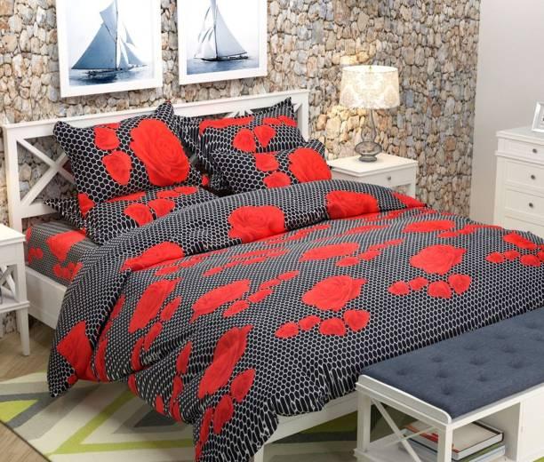 Rs Quality 140 Tc Polycotton Double Fl Bedsheet