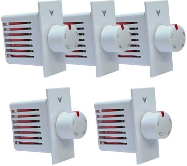 HI-PLASST SWITCH MODULAR NEW 4 STEP - 5PCS FAN REGULATOR Step-Type Button Regulator