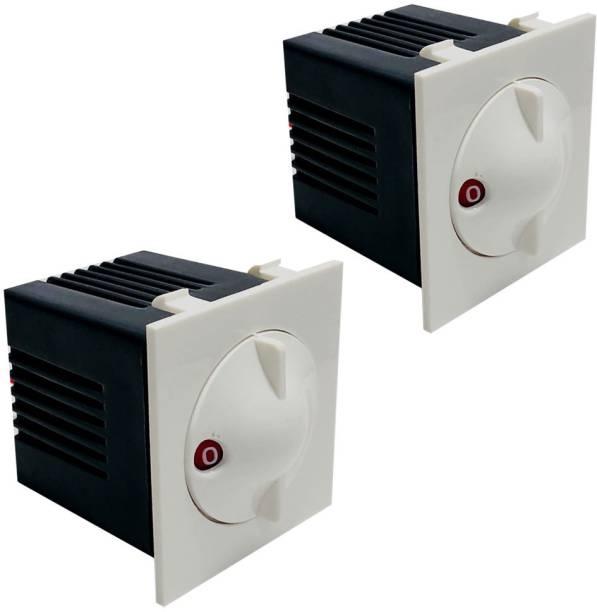 HI-PLASST SOCKET MODULAR NIXON 5 STEP PENTA-2PCS FAN REGULATOR Step-Type Button Regulator