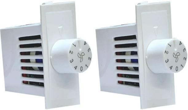 HI-PLASST SWITCH MODULAR 4 STEP - 2PCS FAN REGULATOR Step-Type Button Regulator