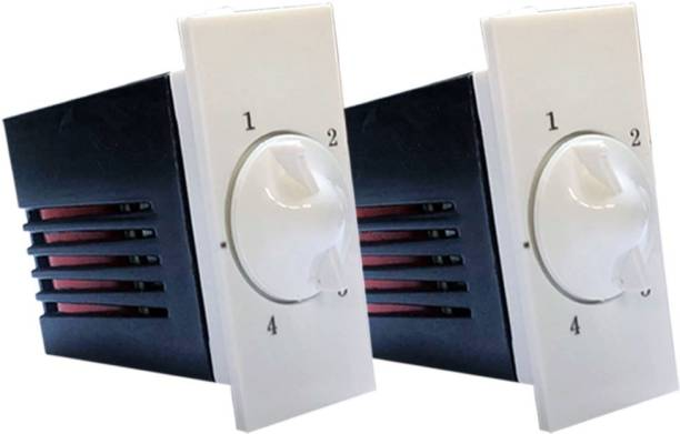 HI-PLASST SWITCH MODULAR NIXON 4 STEP - 2PCS FAN REGULATOR Step-Type Button Regulator