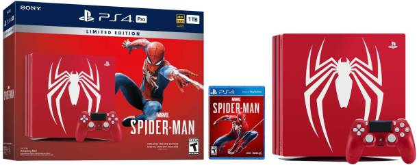 SONY PS4 Pro 1 TB with Marvel Spider Man