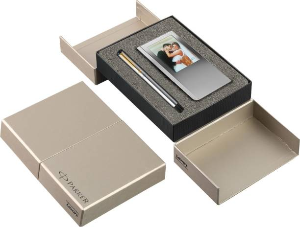 PARKER Vector Stainless Pen Gift Set