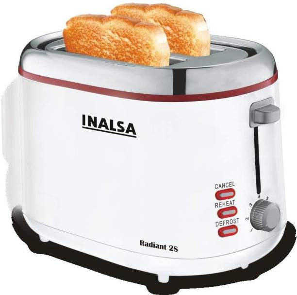 3accc965150 Inalsa Radiant 2S 850 W Pop Up Toaster