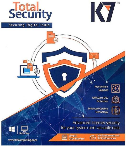 K7 Total Security 1.0 User 1 Year