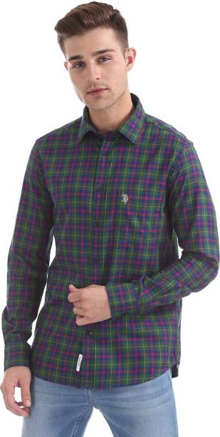 3572b478be676 U S Polo Assn Casual Party Wear Shirts - Buy U S Polo Assn Casual ...