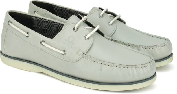 dc8f464b73db United Colors of Benetton Boat Shoes For Men