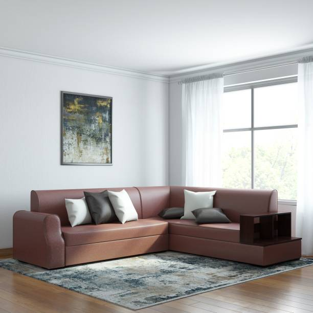 Astounding L Shaped Sofa Buy L Shaped Corner Sofa Sets Online At Best Gmtry Best Dining Table And Chair Ideas Images Gmtryco