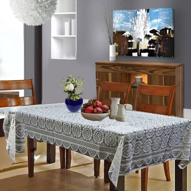 CASA FURNISHING Solid 6 Seater Table Cover