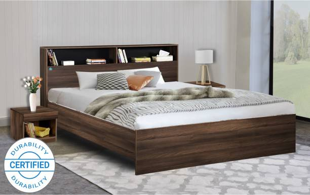 Delite Kom Urban Engineered Wood Queen Bed