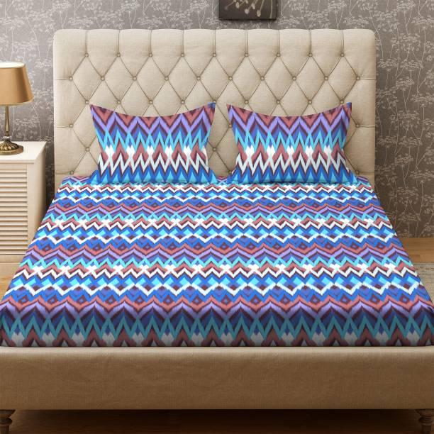 144e36e0d Bombay Dyeing 100 TC Cotton Double Geometric Bedsheet