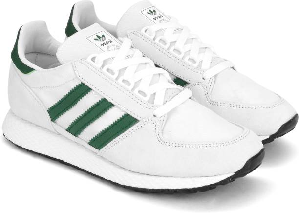 White Adidas Shoes - Buy White Adidas Shoes online at Best Prices in ... 004eade4ee24