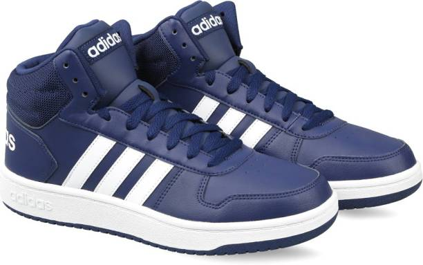 best service b8ad6 efeda ADIDAS HOOPS 2.0 MID Basketball Shoes For Men