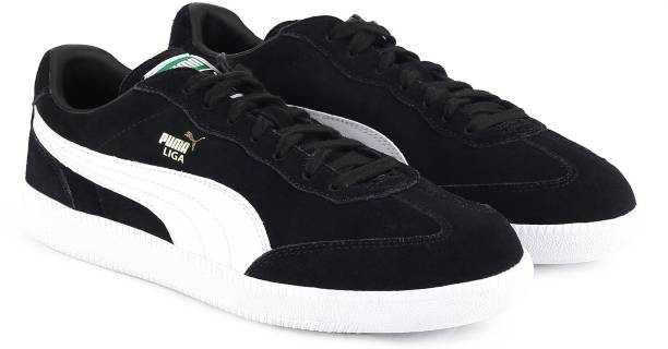 468da095fb5 Puma Liga Suede Sneakers For Men