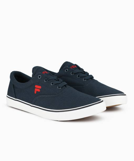 5aa7d719599 Fila CONE Canvas Shoes For Men