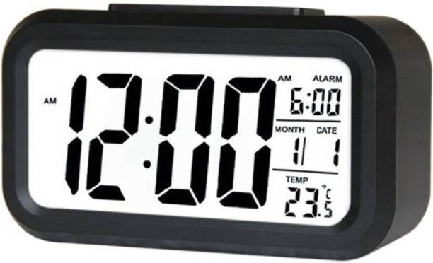 Adonai Digital Black Clock