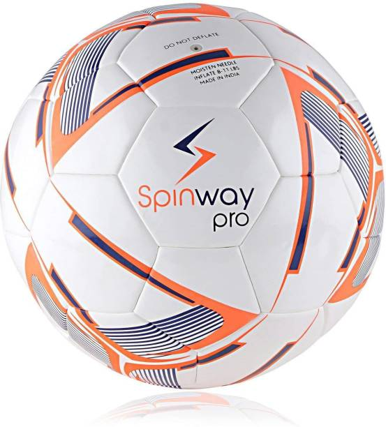 Spinway PRO SW-500 For professional Play,Water resistant Football - Size: 5