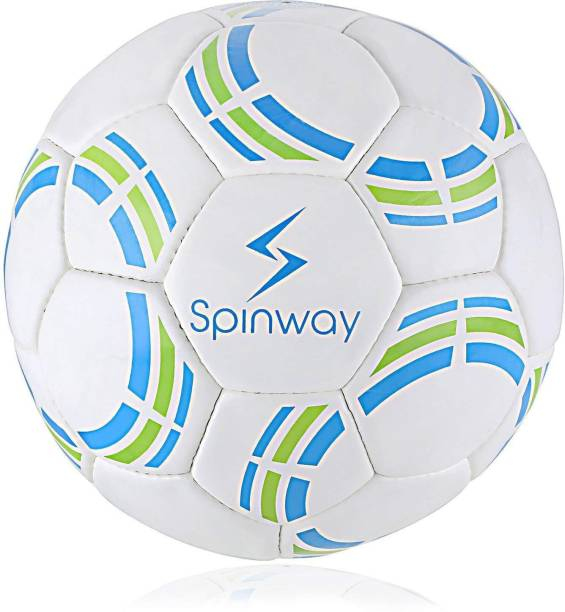 Spinway SW-200 Latex Gripping Textured PU For Professional Play Hand stitched Football - Size: 5